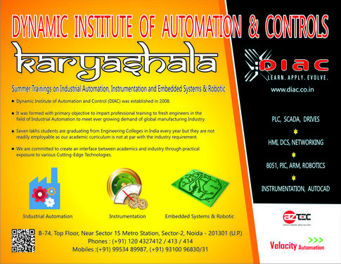 Dynamic Institute Of Automation And Control (DIAC) - Noida