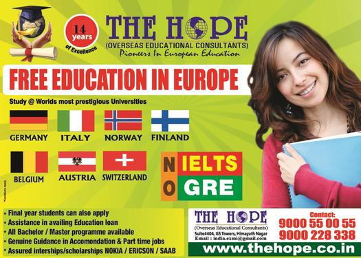 Study in europe consultants