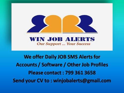WIN JOB ALERTS - Ambarpet - Placement Consultants In Ambarpet