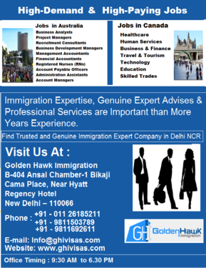 High Demand & High-Paying Abroad Jobs - Moving To Desired - NRI