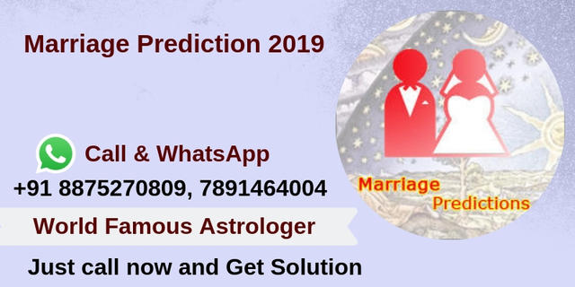Marriage Prediction 2019 Free Marriage Prediction Call Now