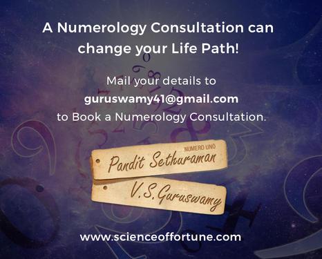 Best Numerologist In Chennai - Astrology, Numerology & Vastu