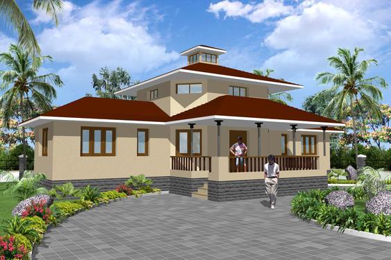 Vastu Based Best Bungalow Designs With R C C Under One