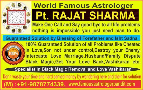 Jaipur:-----Best Astro Rajat Sharma Ji (GET All Solution
