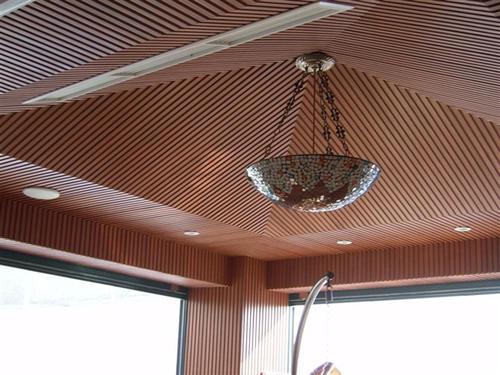 WPC Wooden Ceiling Design,Wooden Ceiling Designs ...