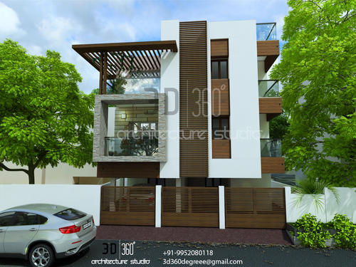3d Front Elevation Jintu : D elevation best quality in chennai architect