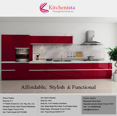 Custom Kitchen Decor In Pune By Kitchenista Housing Services In