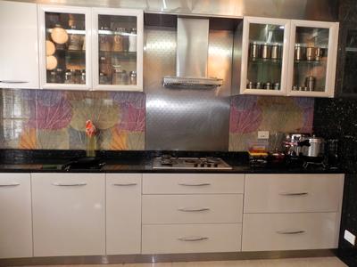 Stainless Steel Modular Kitchen Interior Designer In T Dasarahalli