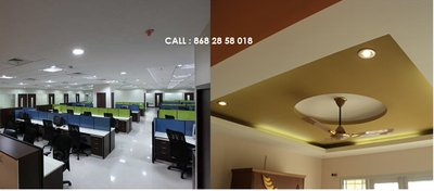 Gypsum False Ceilling Partition In Chennai Rs 48 Sq Ft