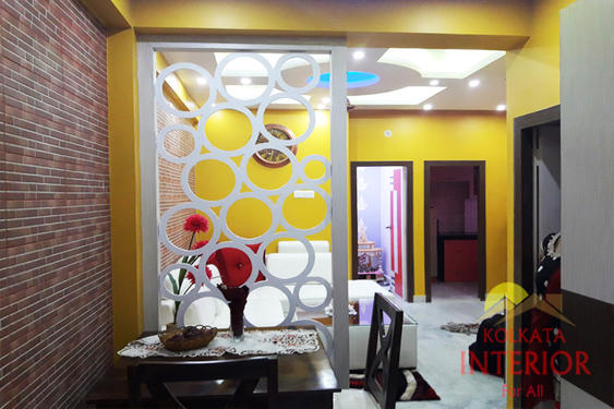 Flat interior designer kolkata best designing work for Salon decor international kolkata west bengal
