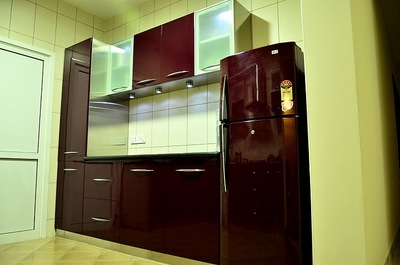 Stainless steel modular kitchen in bangalore decorator for Stainless steel modular kitchen designs
