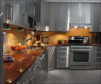 Stainless Steel ITALIAN Modular Kitchen - Bangalore KERAL - Interior ...