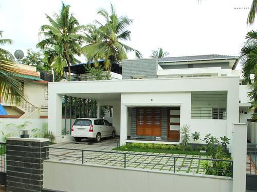 Architect in trichy 3d elevation 3d views house designer for Tamilnadu house models