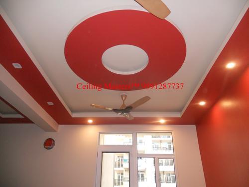 designer ceiling pop ceiling grid ceiling gypsum ceiling interior