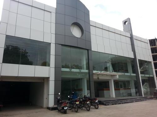 Aluminum Composite Panel (ACP) Cladding Works In Hyderabad - Housing
