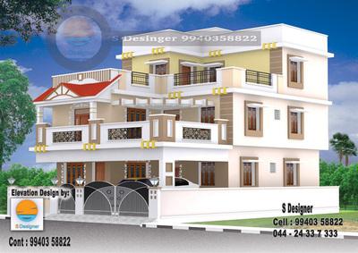 3d Elevation 3d Exterior 3d Interior 3d Plans Architect In Teynampet Chennai