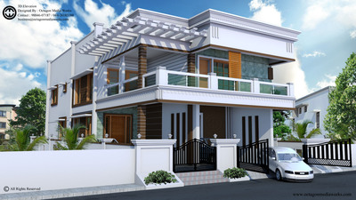 3D Elevation Design For Construction In Chennai - Interior Designer In ...