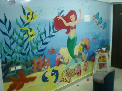 Kids Room Wall Painting Mumbai Wall Decor Decorator In Juhu Mumbai