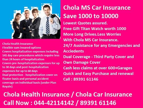 Benefits Of Car Insurance In Chola Ms Chola Ms Insurance Car Dealers In T Nagar Chennai Click In