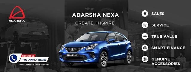 Best Maruti Suzuki Nexa Showroom In Hyd  Adarsha NEXA - Adarsha Nexa Maruti Suzuki Showroom Car Dealers In Pragathinagar Hyderabad & Secunderabad - Click.in
