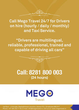 drivers for hire in cochin