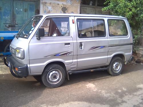 White Board Maruti Omni Available For Self Drive Rental Vehicles