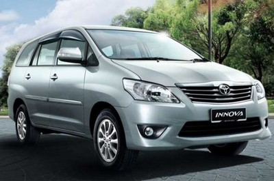 rent toyota inova and 12 seater luxury cabs on hire vehicles for