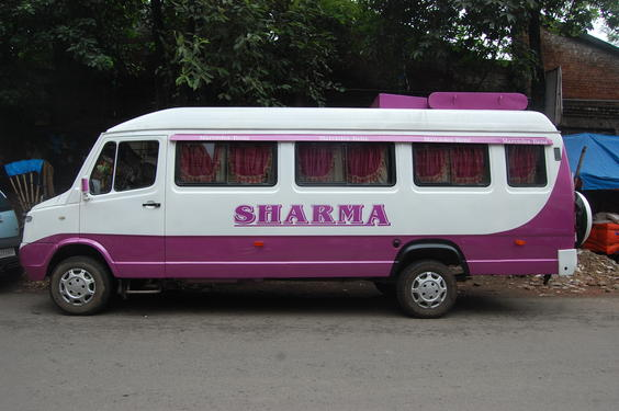 19 Seater A C And Non A C Traveller Bus On Hire In
