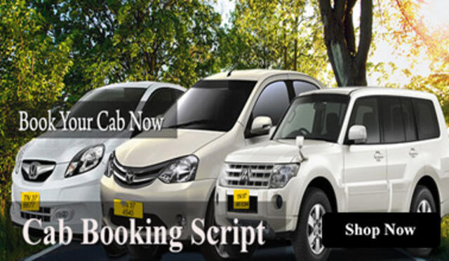 Cabs Booking System | Taxi Booking Script | OLA Clone - Tour