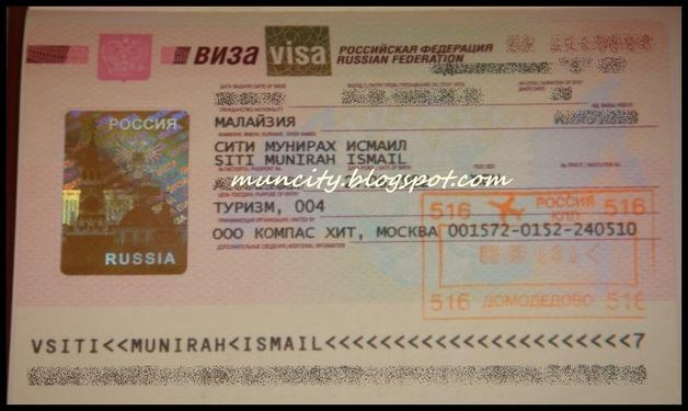 For All Russian Visa 112
