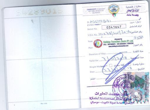 Saudi Visit Visa Kuwait Visa Stamping Agent In Panvel - Tour