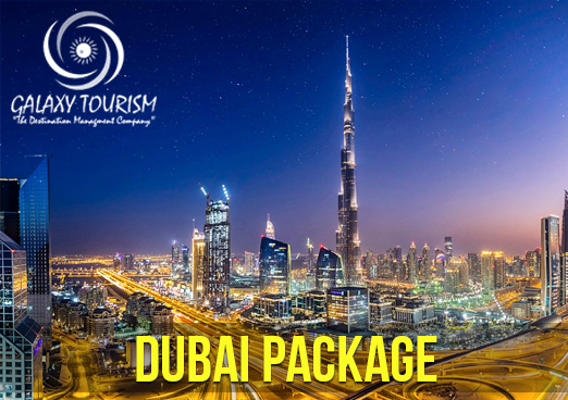 B2B Dubai Travel Agency From India By Galaxy Tourism - Tour