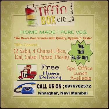 Tiffin Service In Kharghar Pure Veg. - Catering Services ...
