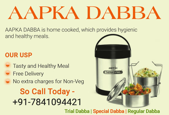 Aapka Dabba Tiffin Service Meal To Doorway Pune