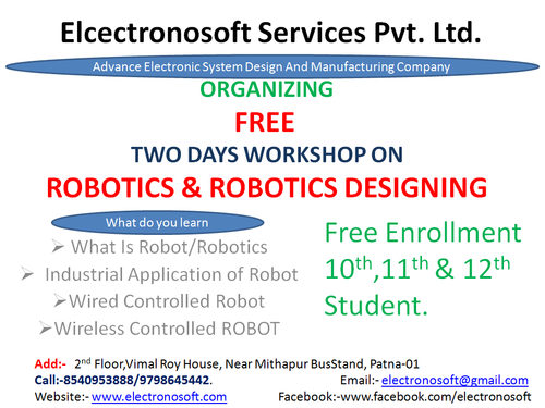 Robotics Free Workshop In Patna - Hobby Classes In Mithapur Farm