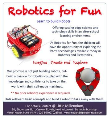 Robotics Classes This Summer - Hobby Classes In Viman Nagar
