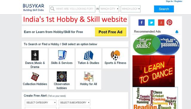 India's Dedicated Hobby Classes In Bhopal Listing Website - Music
