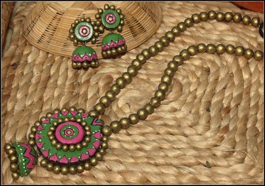 Terracotta Jewellery Making Class In Chennai, Tambaram - Jewellery ...