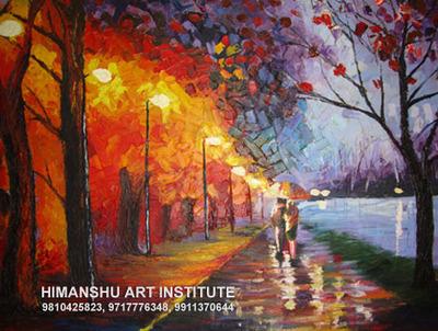 9654446040 painting classes in hari nagar jail rd delhi