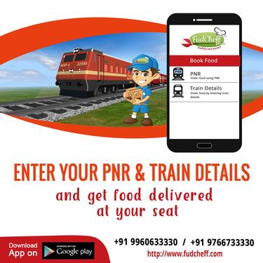 train food delivery app