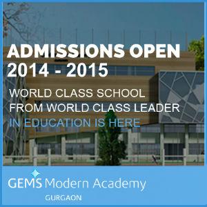 gems modern academy gurgaon fees