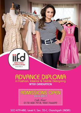 Indian Institutes Of Fashion And Design In Sector 35 Bachelor Degree Master Degree Professional Degree Diploma College In Sector 35 Chandigarh Click In