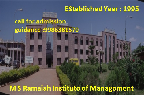 9986381570 Admission In Ramaiah Management College 2019 In