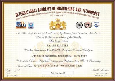international academy  engineering  technology  ernakulam bachelor degree master