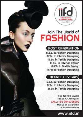 Admission Open In Top Fashion Designing Institute Chandigarh In Sector 34 Bachelor Degree Master Degree Professional Degree Diploma College In Sector 34 Chandigarh Click In