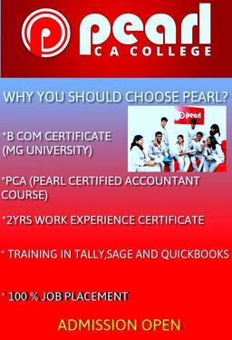 PEARL CA COLLEGE,KAKKANAD In Kakkanad - Professional Degree College