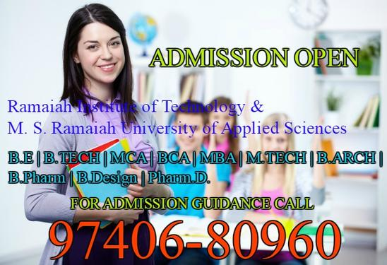 Fees Structure And Courses Of Ms Ramaiah Institute Of Techno In Muralinagar Pu Bachelor Degree Master Degree Professional Degree Diploma College In Muralinagar Visakhapatnam Click In