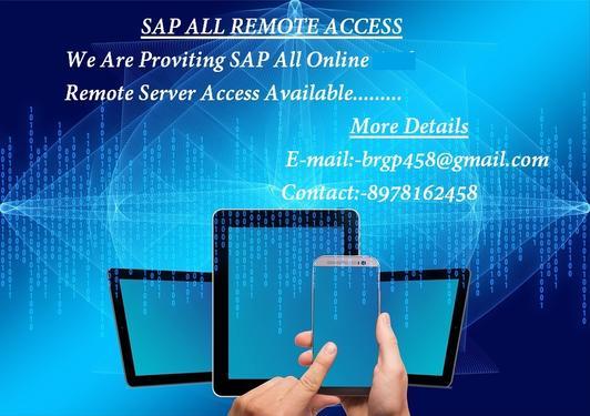Sap Bw On Hana Remote Access - Professional Course In Aditya