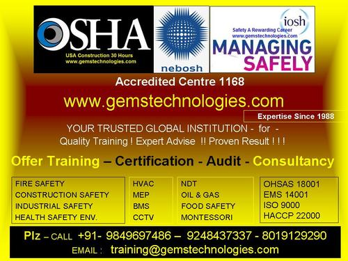 No 1 Fire And Safety Training Institutes Safety Officer