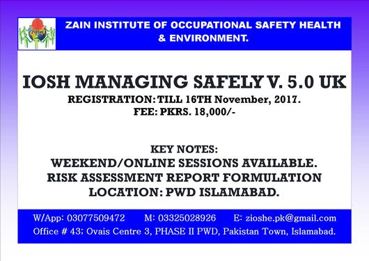 iosh managing safely and osha 3o hours from oshacademy professional course in borivali east mumbai clickin